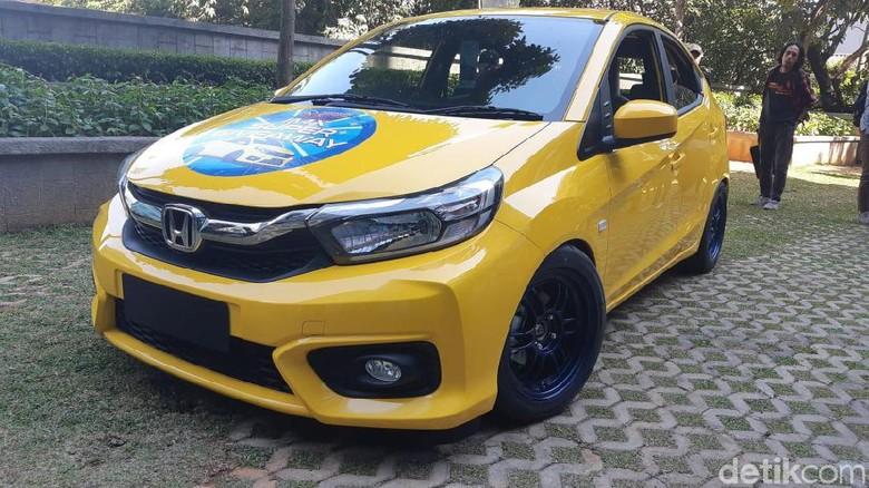 Honda Brio yang sudah dimodifikasi untuk peserta Foto: Ridwan Arifin