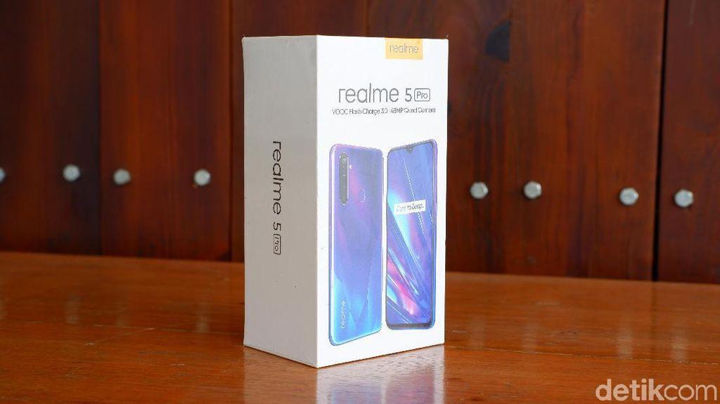Inilah Realme 5 Pro. Foto: Adi Fida Rahman/detikINET