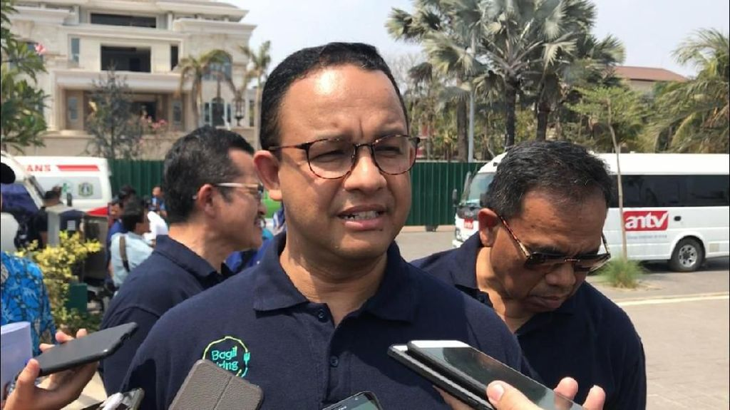 Anies Minta Tak Semua Gedung Pemerintah Dilego untuk Ibu Kota Baru