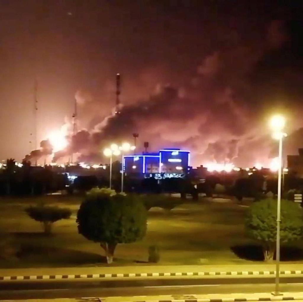 AS Tuding Iran atas Serangan Kilang Minyak Arab Saudi
