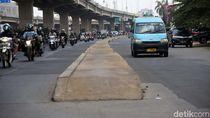 Dibantah PUPR, Bina Marga DKI Akan Bongkar Trotoar Tengah Jalan Kalimalang