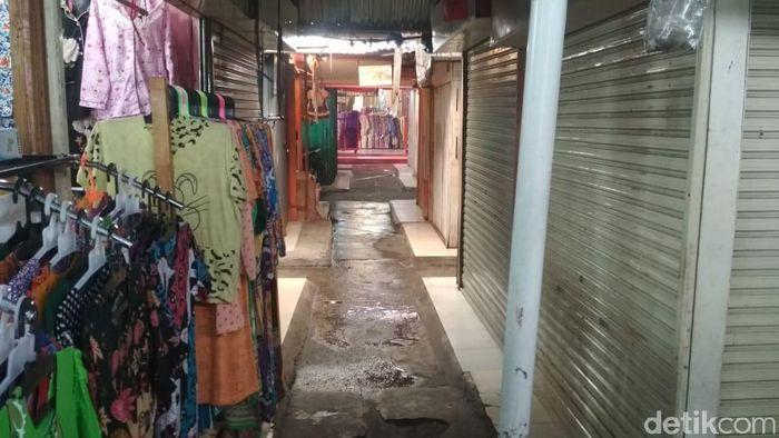 Situasi di Pasar Pusat Pekanbaru-Riau/Foto: Chaidir Tanjung/detikcom