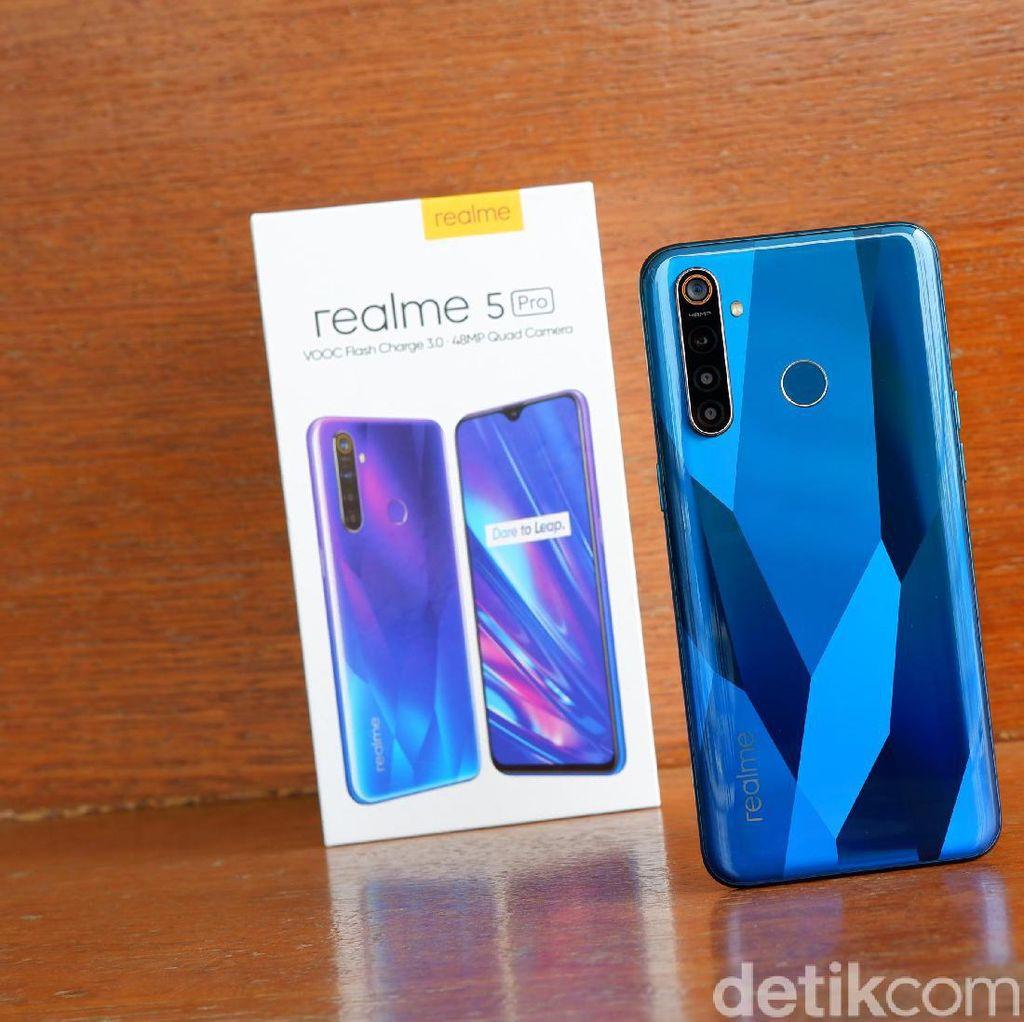 Realme 5 Pro Usung 4 Kamera, Ini Bocoran Harganya
