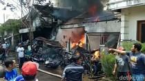 2 Rumah dan Puluhan Motor Bekas di Banyuwangi Terbakar, Kerugian Rp 500 Juta