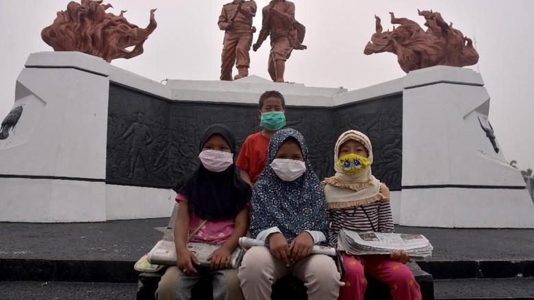 KPAI Dorong Sekolah Terdampak Kabut Asap Kurangi Aktivitas Luar Ruangan