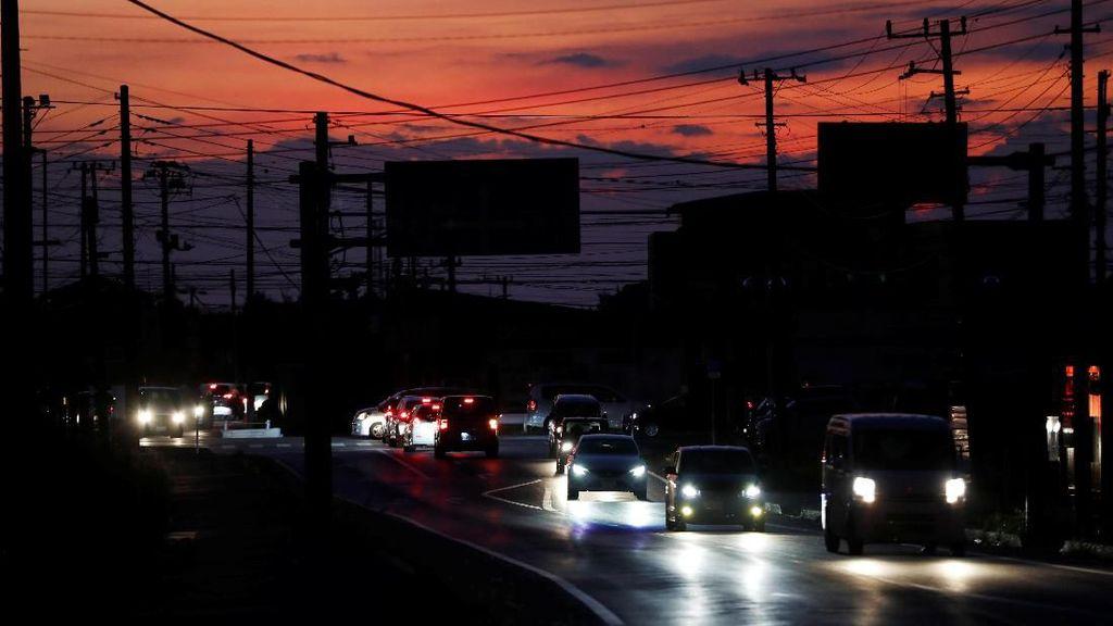Usai Topan Faxai, Kota di Sekitar Tokyo Masih Gelap Gulita 2 Pekan ke Depan