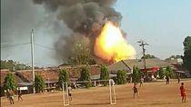 Gudang Meledak di Semarang Tempat Penyimpanan Barang Bukti Bahan Peledak