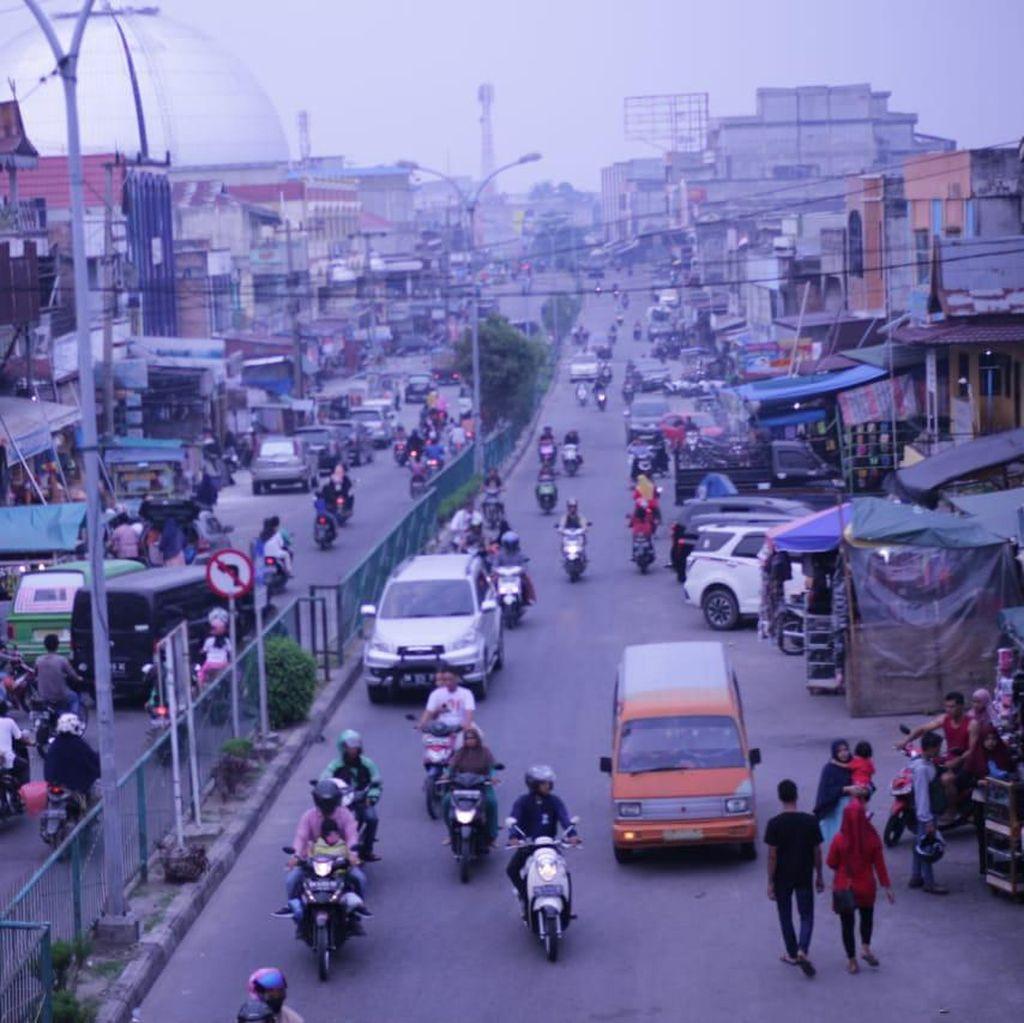 Ada 27 Titik Api di Riau, Kualitas Udara Tidak Sehat