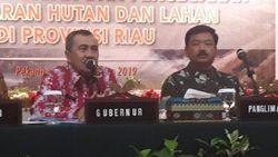 Riau Siaga Karhutla Hingga 31 Oktober, Pemerintah Buka Posko Kesehatan
