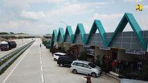 Siaga Libur Lebaran, Parkir di Rest Area Anut Jaga Jarak dan Dibatasi 30 Menit