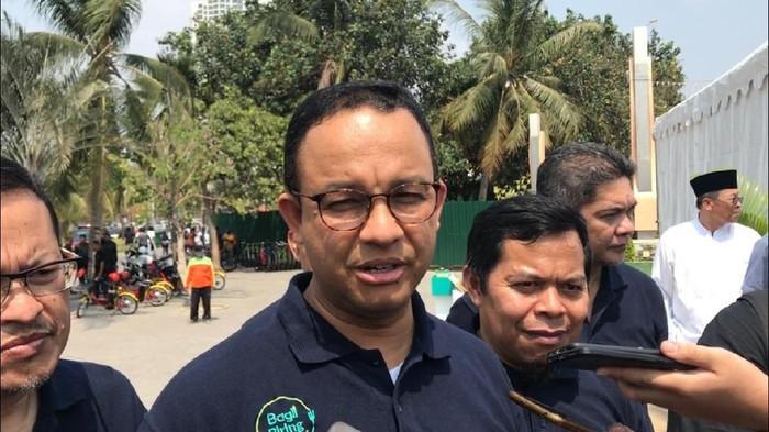 Gubernur DKI Jakarta Anies Baswedan (Foto: Farih Maulana Sidik/detikcom)