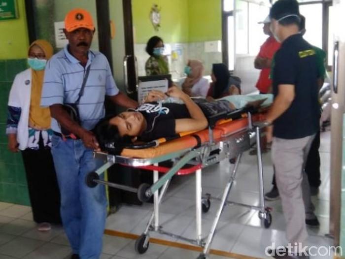 Kaki Warga Pasuruan Membusuk karena Tak Mampu Berobat/Foto: Muhajir Arifin
