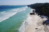 Pantai Batu Pintu (Afif Farhan/detikcom)