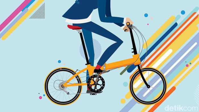 Terpikat Sepeda Lipat