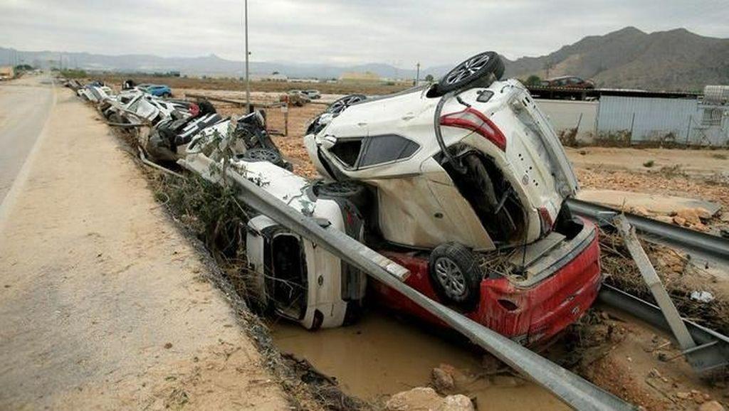 Banjir Bandang di Orihuela Spanyol Tewaskan 6 Orang