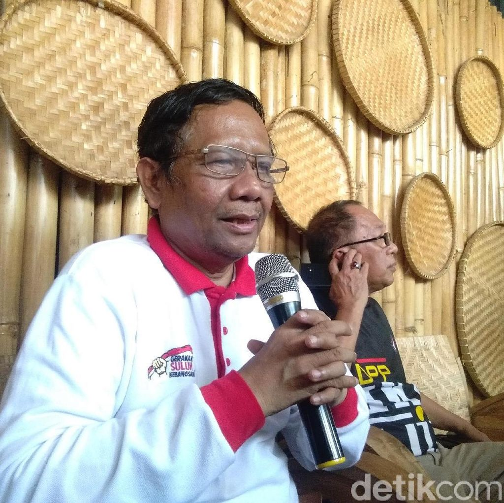 Mahfud Minta RUU KPK Dibahas DPR Periode 2019-2024
