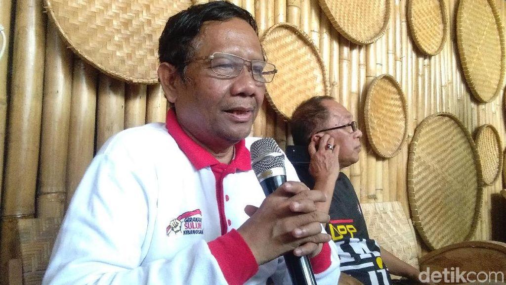 Mahfud Md Sarankan Jokowi Ajak Bicara Pimpinan KPK