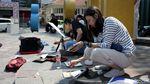 Intip Keseruan Pegiat Gambar Sketsa Arsitektur di Bandung