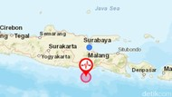 Gempa M 3,8 di Laut Malang Selatan Dipicu Dua Lempeng Indo-Australia