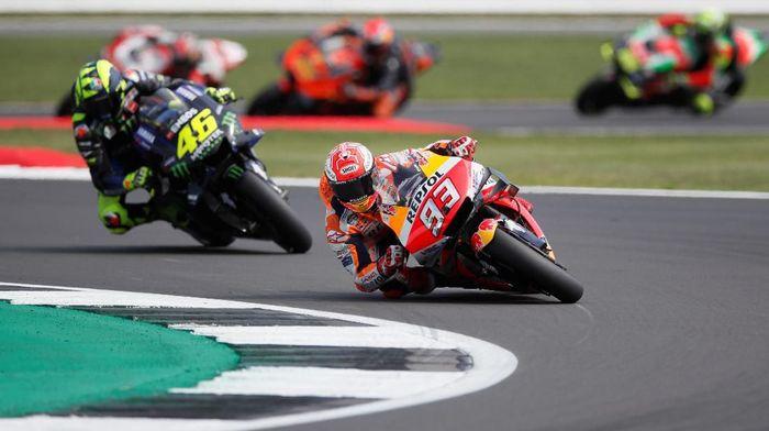 MotoGP Aragon 2019 bakal dihelat pukul 18.00 WIB nanti (David Klein/REUTERS)
