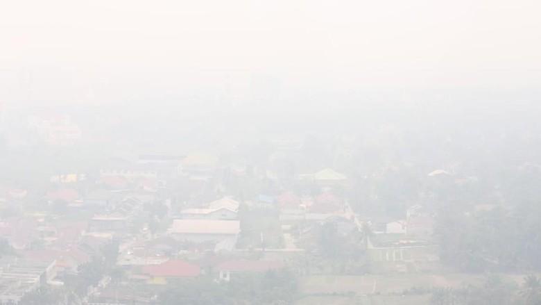 Data Airvisual: Udara Palangka Raya Berbahaya, Jambi-Pekanbaru Tidak Sehat!