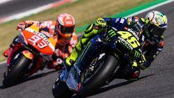Rossi Membalas Marquez: Kalau Saya Tak Perlu Berseteru untuk Termotivasi