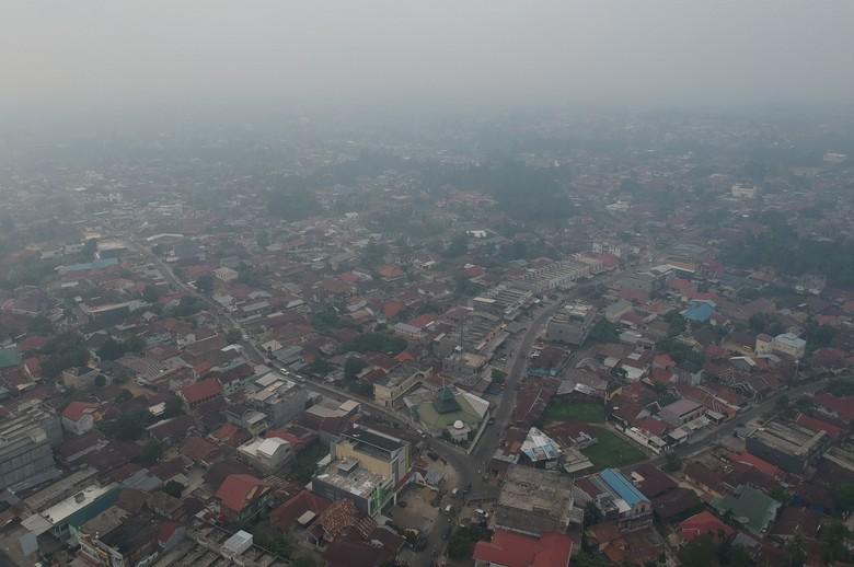 Penerbangan di Bandara Yogyakarta Sempat Terganggu Imbas Karhutla Kalimantan