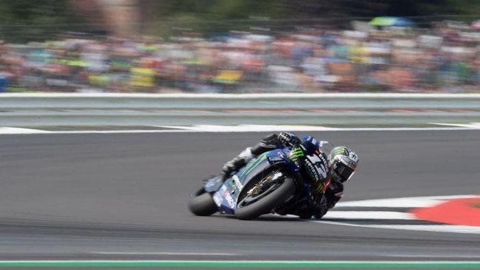 Pebalap Yamaha, Maverick Vinales, antusias menatap MotoGP San Marino. (Foto: Mirco Lazzari gp/Getty Images)
