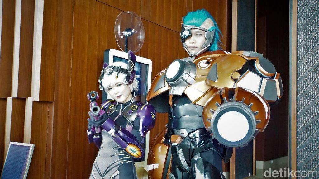 Kemarin ada acara seru banget buat para gamers dan cosplayers. Foto: detikINET/Aisyah Kamaliah