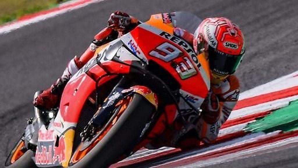 MotoGP San Marino: Marquez Juara Meski Dikeroyok 4 Rider Yamaha