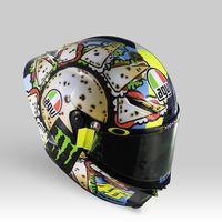 Helm Spesial Rossi di Misano 2019, Bikin Lapar!