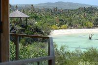Resort yang dikelola AXl di sekitar Pantai Nemberala (Ari Saputra/detikcom)