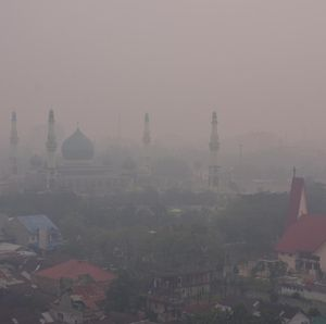12 Penerbangan Garuda Dibatalkan Imbas Kabut Asap