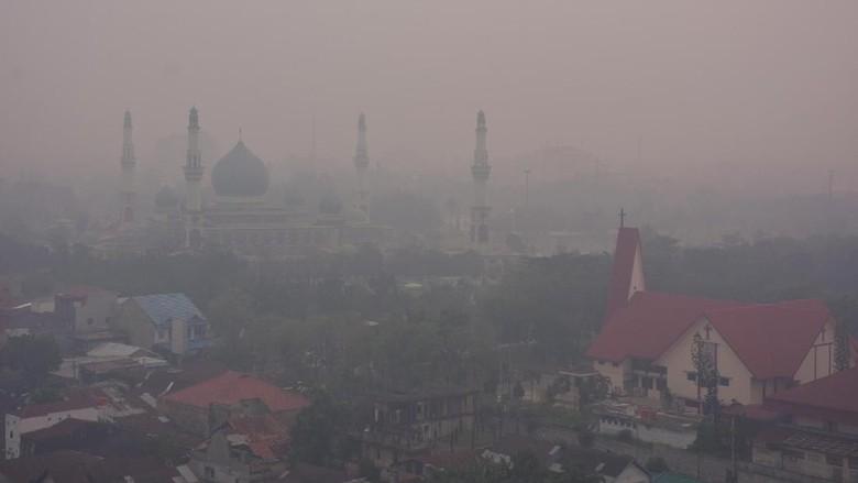 Dampak Asap Pekat di Riau, UIR Juga Liburkan Dosen dan Staf yang Hamil
