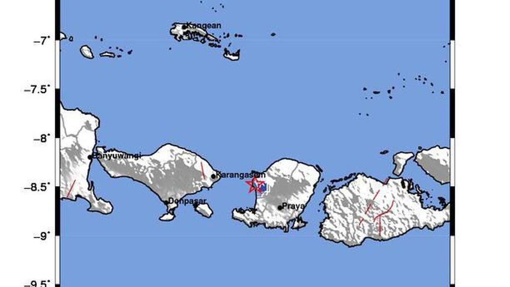 Gempa M 3,1 Terjadi di Lombok Utara, NTB