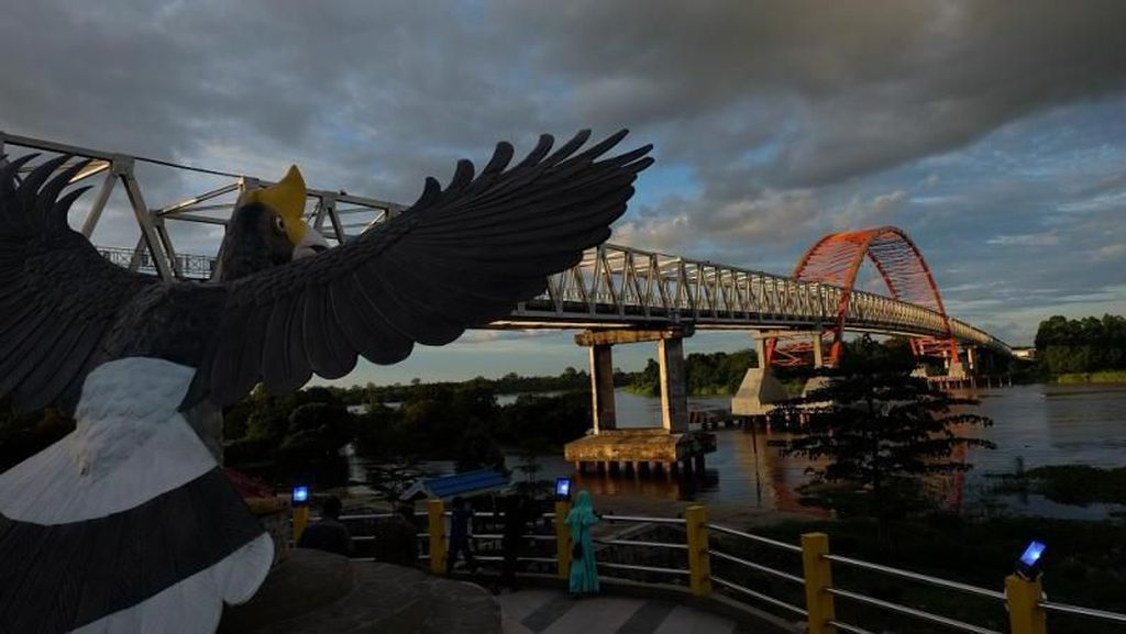 Kahayan, Jembatan Ikonik di Palangkaraya