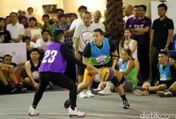 Saat Artis Ikut 3x3 Kompetisi Basketball