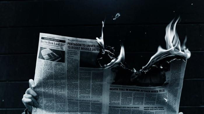 Ilustrasi senja kala media cetak. Foto: Unsplash