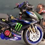 Modifikasi Yamaha MX-King Ala Tunggangan Valentino Rossi