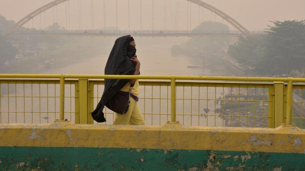 Yang Bahaya dari Kabut Asap, Partikel Debu Halus hingga Gas Beracun