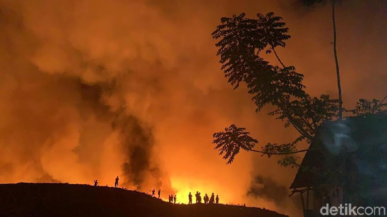 TPA Antang Makassar Terbakar Hebat, Pengelola Diperiksa Polisi