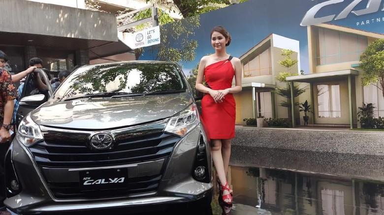 Toyota Calya Foto: Ridwan Arifin