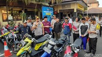 Polres Malang Kota Kembalikan Kendaraan Curanmor kepada Para Korban