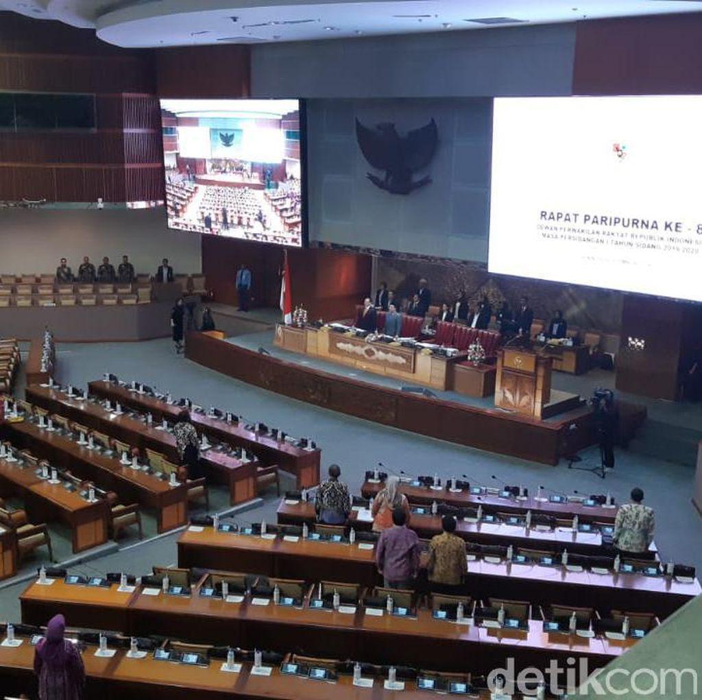 5 Pimpinan KPK Disahkan, Arsul Interupsi soal Pengembalian Mandat ke Presiden