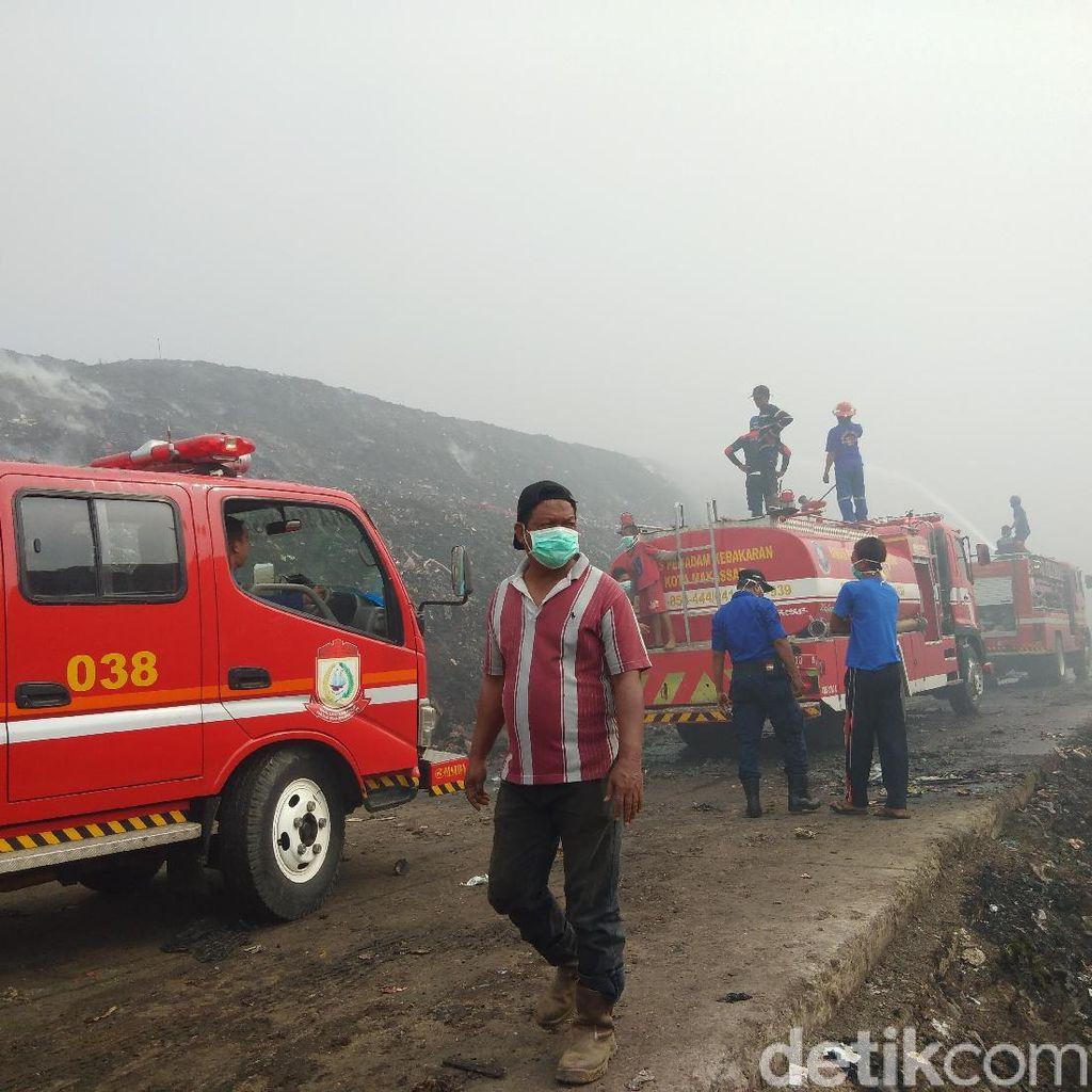 Pemkot soal Penyebab Kebakaran TPA di Makassar: Gas Metan