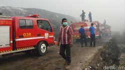 15 Jam Membara, Kebakaran di TPA di Makassar Akhirnya Bisa Padam