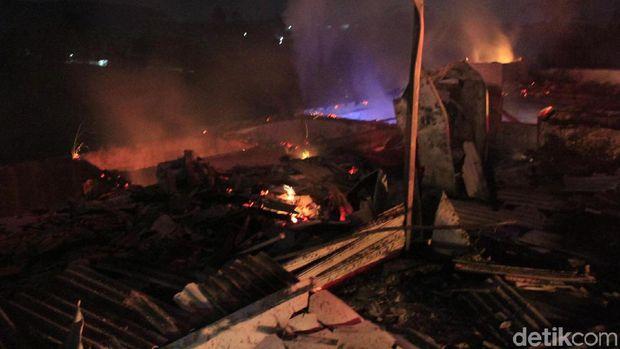 8 Kios Peuyeum di Bandung Barat Terbakar, Kerugian Capai Rp 1 M