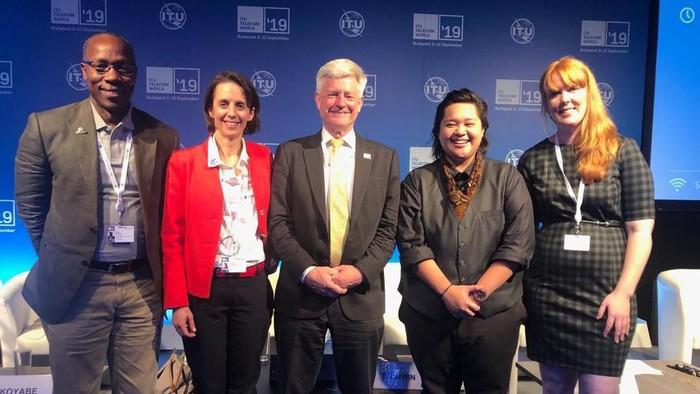 CEO Bahaso Allana Abdullah (kedua dari kanan). (Dok. Bahaso)
