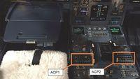 Tumpahan kopi di bagian mesin kokpit (Air Accidents Investigation Branch)