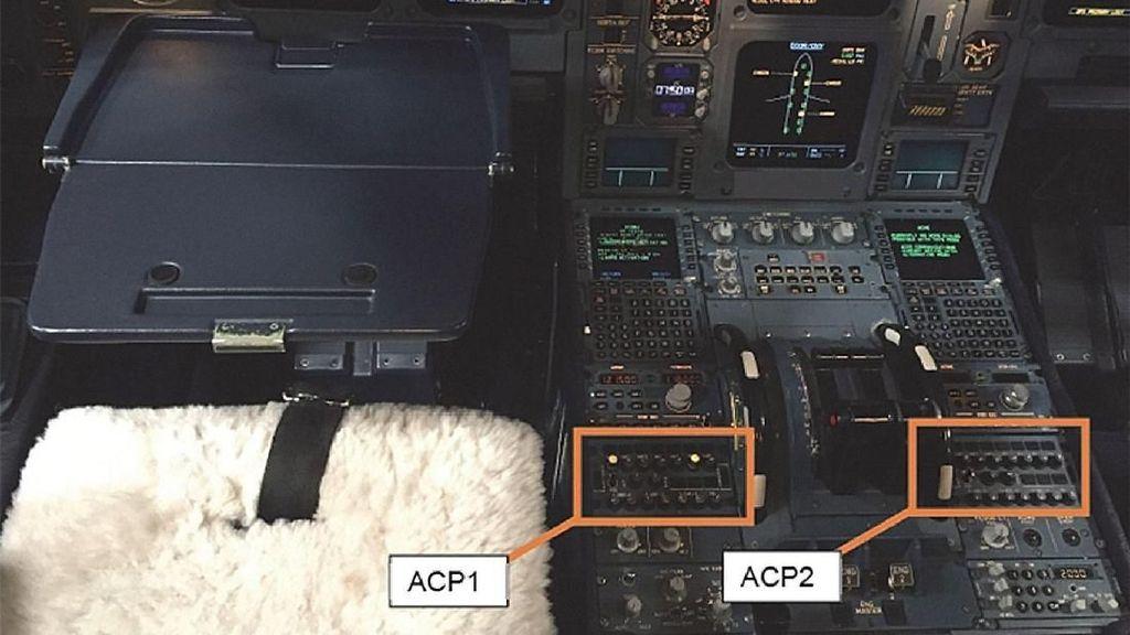 Kopi Tumpah di Mesin Kokpit, Pesawat Dialihkan